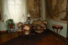 042 Wnętrza pałacowe z XVIII-XIX w