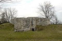 059 Sławków ruiny Zamku